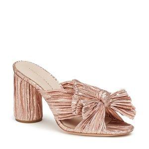 Loeffler Randall Penny Knot Bow Mule Sandals
